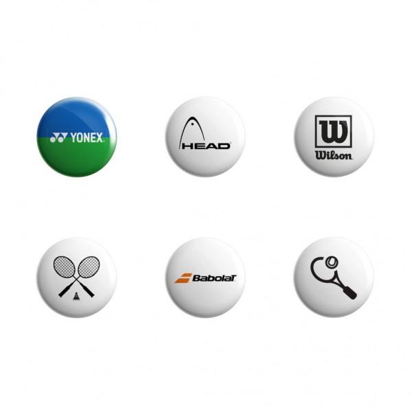 پیکسل طرح برند های تنیس مدل TP-01 مجموعه 6 عددی