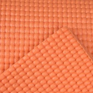 زیرانداز یوگا گلدن استار رنگ نارنجی ضخامت 8 میلی متر