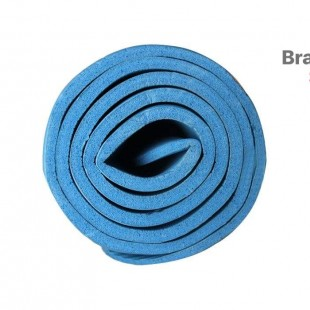 زیرانداز یوگا مت مدل ECO FRIENDLY رنگ آبی ضخامت 8 میلیمتر