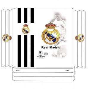 برچسب افقی پلی استیشن 4 مدل REAL MADRID