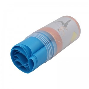 کش پیلاتس مدل ELASTIC BAND ضخامت 0.5 میلی متر رنگ آبی
