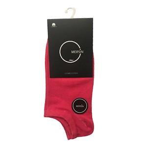 جوراب ورزشی زنانه مدل MERSIN رنگ قرمز