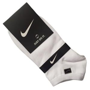 جوراب ورزشی مچی زنانه نایکی رنگ سفید