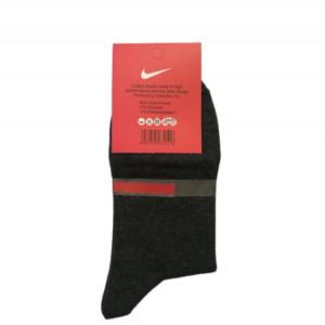 جوراب نیم ساق مردانه رنگ ملانژ تیره- نایکی