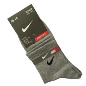 جوراب نیم ساق مردانه رنگ ملانژ روشن- نایکی