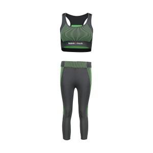ست نیم تنه و شلوارک ورزشی زنانه Reebok کد Z444