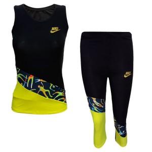 ست تاپ و لگ ورزشی زنانه NIKE کد X888