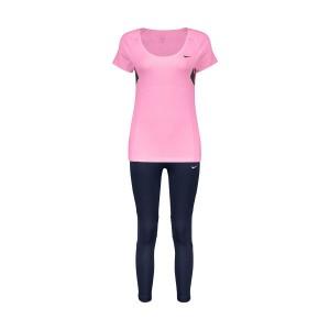 ست تی شرت و لگینگ زنانه نایکی کد S800