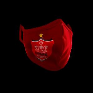 ماسک طرح پرسپولیس Perspolis رنگ قرمز