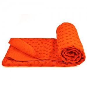 زیرانداز یوگا حوله ای مدل YOGA Mat رنگ نارنجی