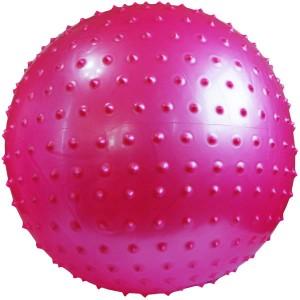توپ پیلاتس عاج دار مدل Aerobic Ball قطر 25 سانتی متر سایز S رنگ صورتی
