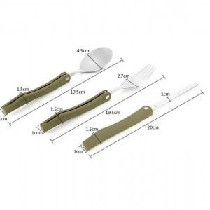 ست قاشق، چنگال و چاقوی کوهنوردی مدل camm