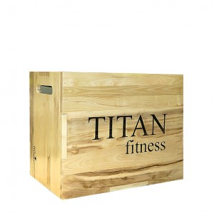 جامپ باکس چوبی TITAN