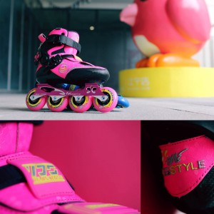 اسکیت کفشی فری استایل مدل x5 رنگ صورتی