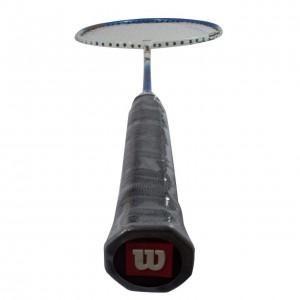راکت بدمینتون ویلسون تیتانیوم مدل FOUR - Blueسایز US: 4 1/2 - Euro: 4