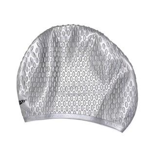 کلاه شنای اسپیدو مدل SILICONE CAP رنگ طوسی
