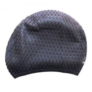 کلاه شنای اسپیدو مدل SILICONE CAP رنگ مشکی