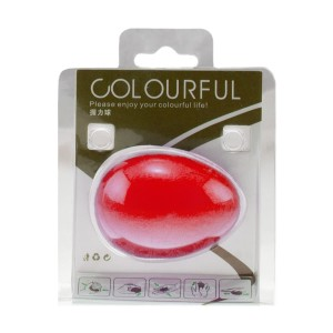 توپ تقویت مچ تخم مرغی COLOURFUL رنگ قرمز