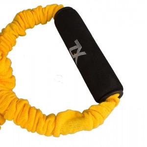 کش تمرین زد ایکس مدل پروانه ای رنگ زرد