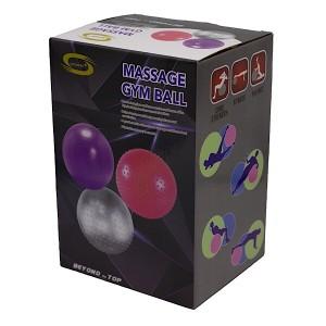 توپ بدنسازی نیم خار GYM BALL رنگ آبی قطر 85cm