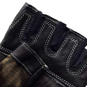 دستکش بدنسازی مردانه نایکی مدل چرمی