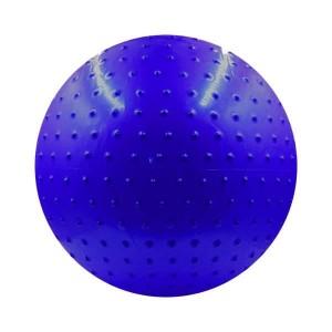 توپ پیلاتس عاج دار مدل Aerobic Ball قطر 25 سانتی متر سایز S رنگ آبی