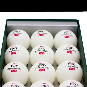 توپ پینگ پنگ PRO-TABLETENNISBALL بسته 12 عددی