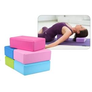 آجر یوگا حرفه ای مدل Brick Yoga - طوسی