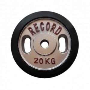 وزنه هالتر خانگی 20 کیلویی رکورد بسته دو عددی