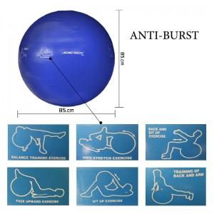 توپ بدنسازی جورکس مدل JOEREX-ANTI-BURST قطر 85 سانتیمتر