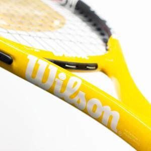 راکت تنیس ویلسون مدل BLX همراه با گریپ