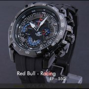 ساعت مچی مردانه کاسیو مدل EF 550 Red Bull