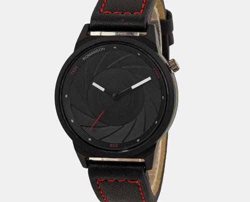 ساعت مچی صفحه مشکی Romanson مدل 13101