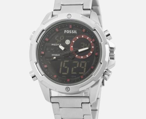 ساعت مچی مردانه Fossil نقره ای