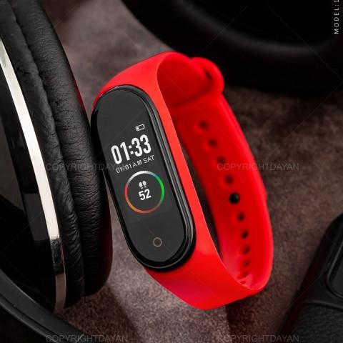 مچ بند هوشمند M4 قرمز 15172