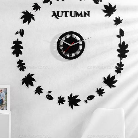ساعت دیواری مدل پاییز Autumn