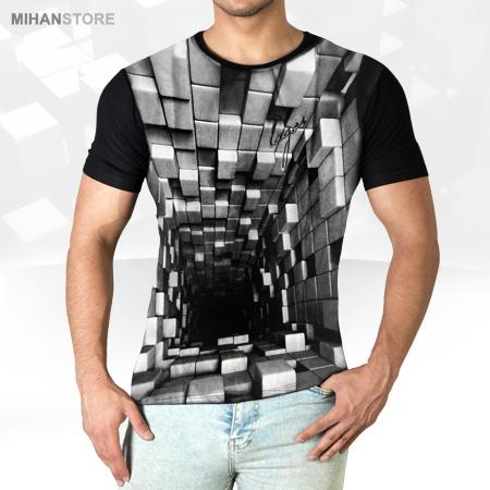 تی شرت سه بعدی Tunnel