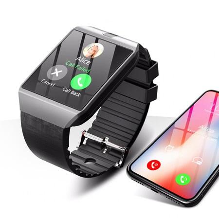ساعت هوشمند سیم کارت خور مدل DZ09