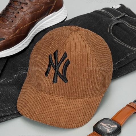 کلاه کپ مخمل کبریتی New York
