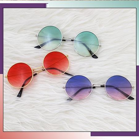 عینک آفتابی شیشه گرد PARADISE