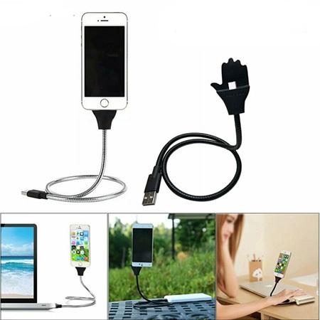 کابل نگهدارنده و شارژر موبایل HAND