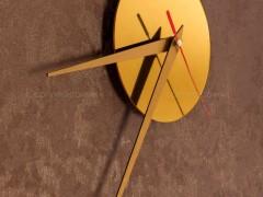 ساعت دیواری رولکس طلایی
