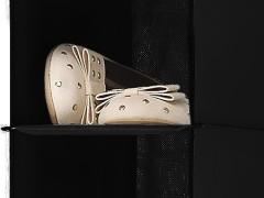 آویز کفش طبقاتی داخل کمد
