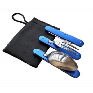 مجموعه قاشق، چنگال و چاقو 5 کاره مسافرتی