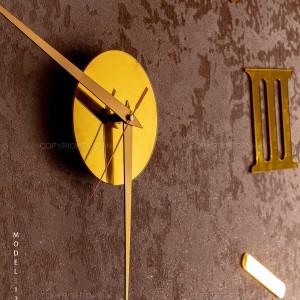 ساعت دیواری طلایی Roma مدل 12368
