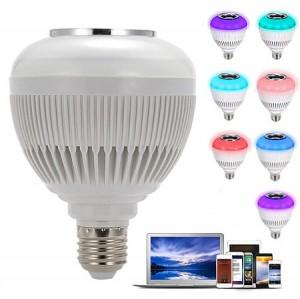 لامپ هوشمند و اسپیکر بلوتوث