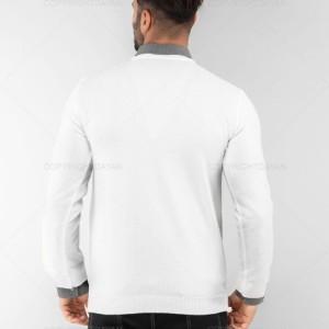 ژاکت یفه هفت مردانه سفید