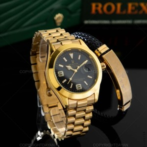 ساعت مچی Rolex طلایی