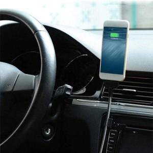 کابل نگهدارنده و شارژر موبایل مخصوص خودرو