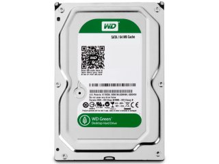Western Digital Green Edition 1TB 64MB Cache Internal Hard Drive WD10EZRX